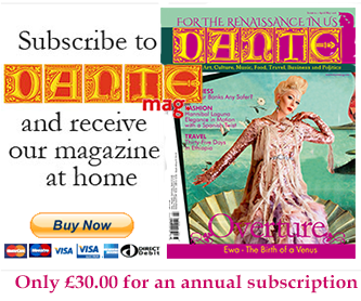 Subscribe to DANTEmag now