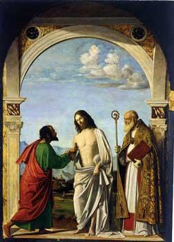 The Doubting Saint Thomas Venezia, Gallerie dell'Accademia