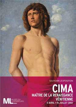 Le Musee du Luxembourg, from April 5th to July 15th under the title, Cima, Maitre de la Renaissance Venetienne.