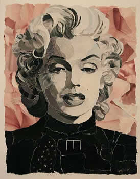 collage of Marilyn Monroe