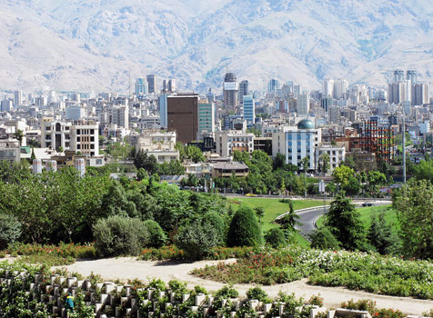 Northern area of Tehran