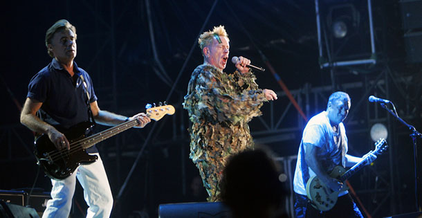 The Sex Pistols - Sziget music festival - Budapest