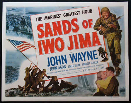 Sands of Iwo Jima film