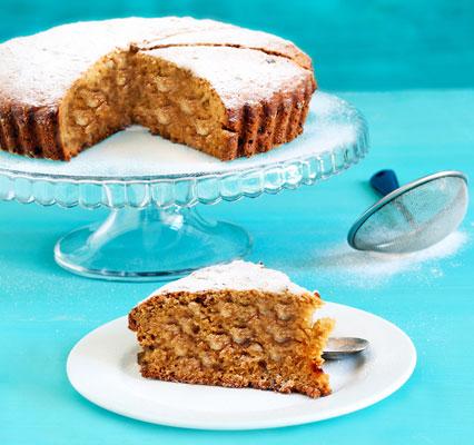 Polenta and almond cake
