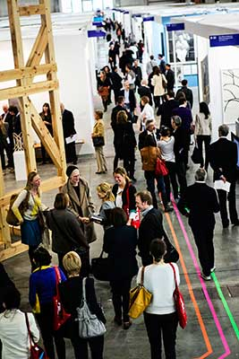 Opening day at Art Brussels