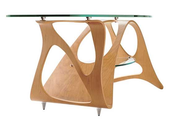 """Coffee table """"Arabesque"""" design by Zanotta"""