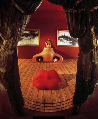 The 'Dalilips' Sofa by Salvador Dali