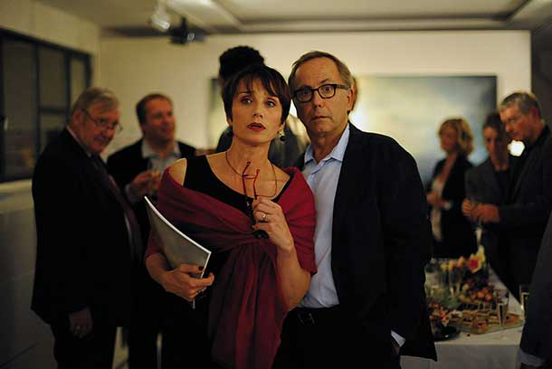 Fabrice Luchini and  Kristin Scott Thomas