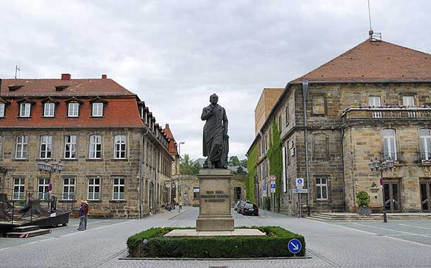 Jean Paul Square in Bayreuth.