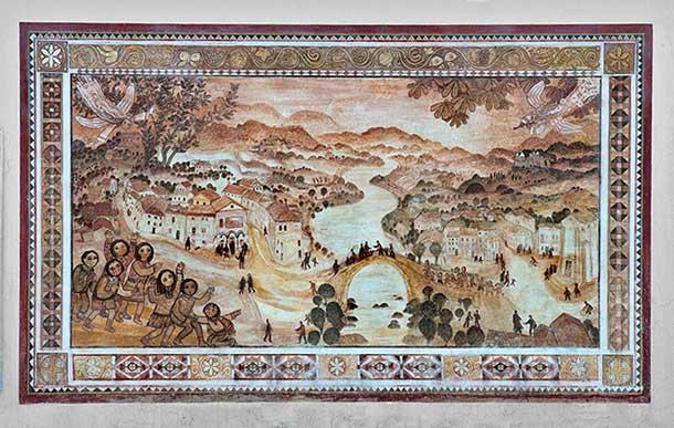 A Fresco of Sarmede by Stepan Zavrel
