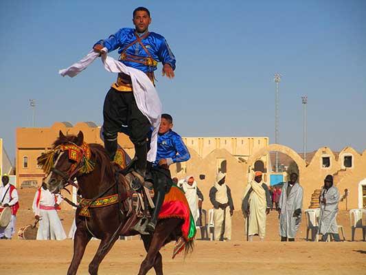 Horse Acrobats