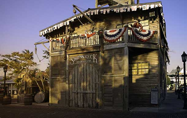 The Shipwreck House