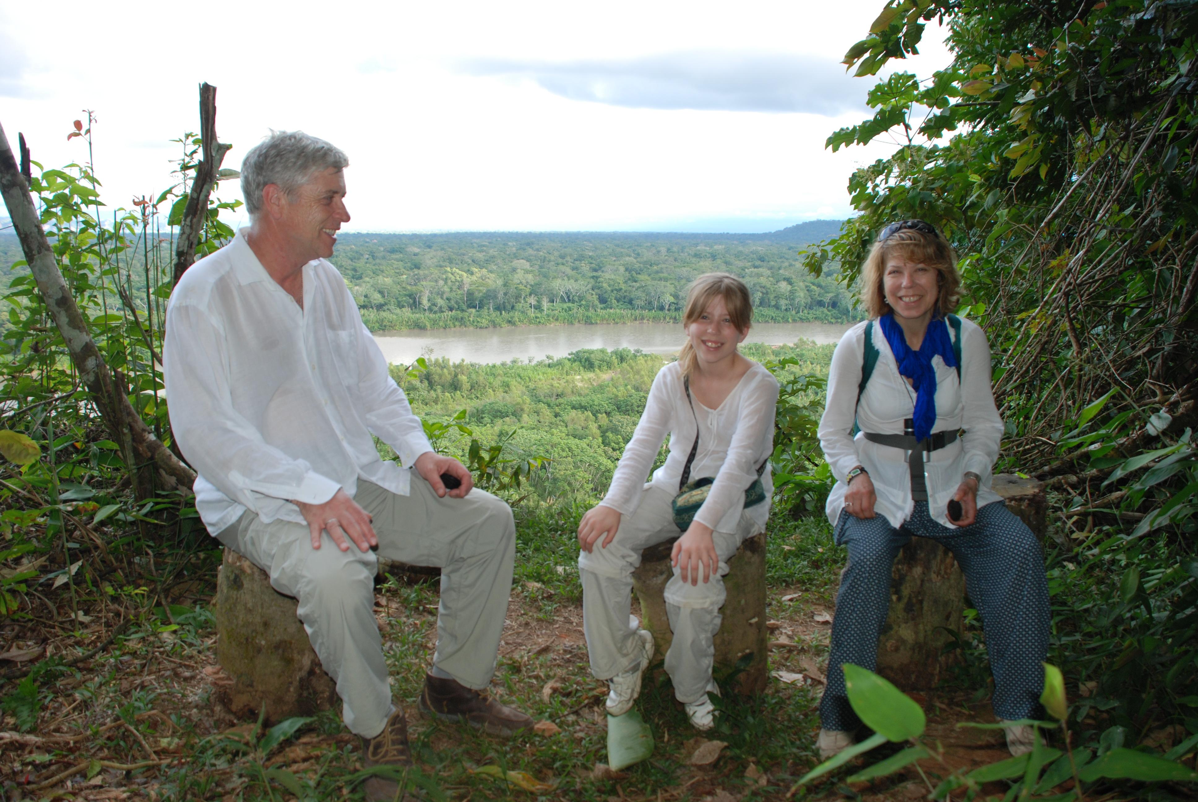 Nigel Parsons' Family