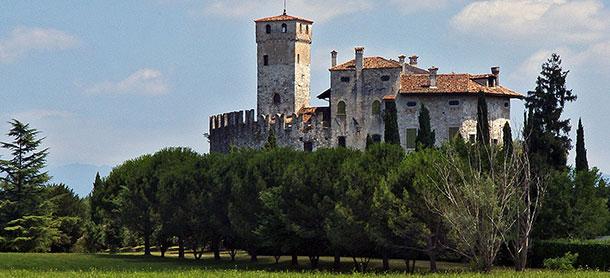 Villalta's Castle. Fagagna