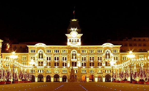 """Trieste """"Piazza Unità d'Italia"""""""