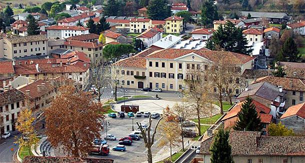 Fagagna, main square