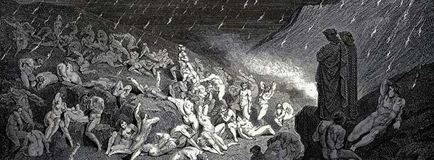 Hell Dore Dante Rain