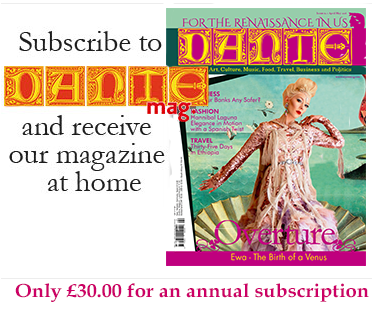 Subscribe to DANTEmag and receive our magazine at home