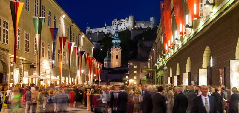 Salzburg - View of the Hofstallgasse ©SF/Kolarik