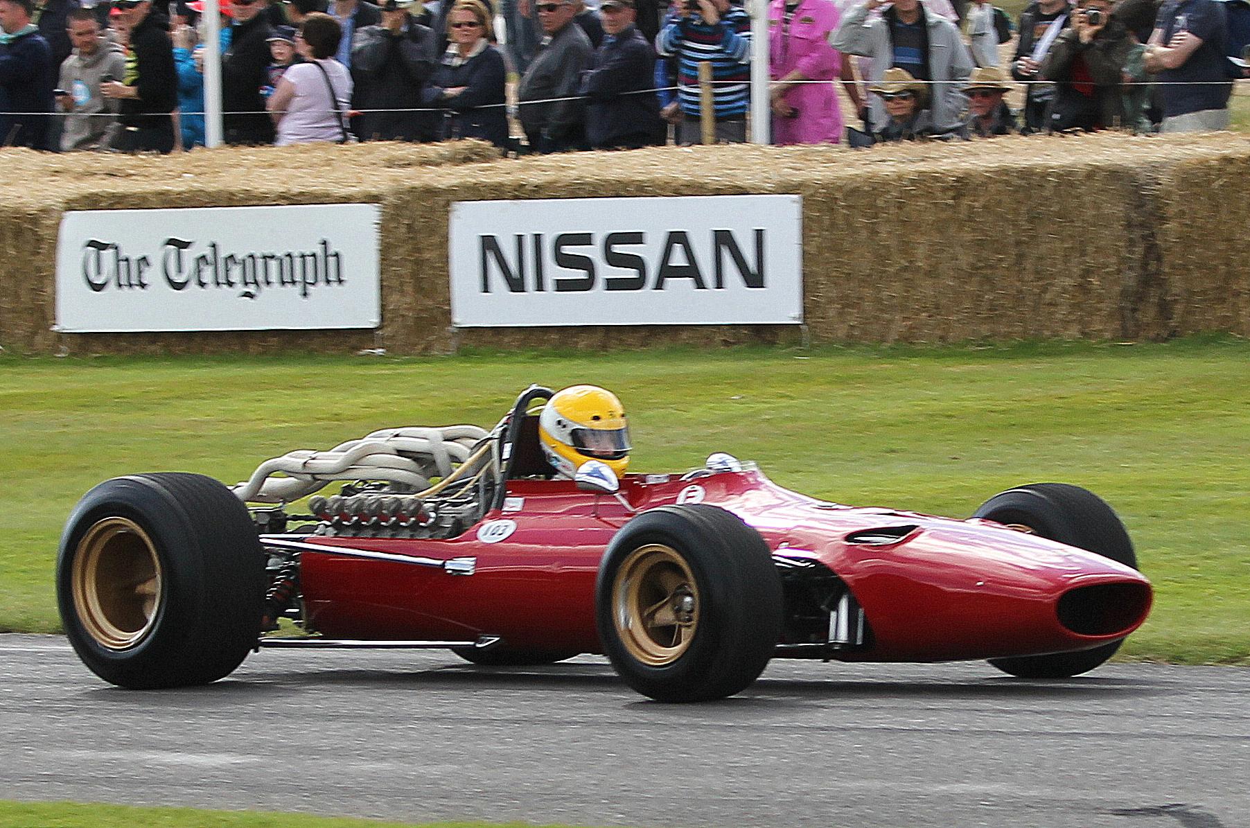 Ferrari 312/68 (1968 - ex. Jacky Ickx)