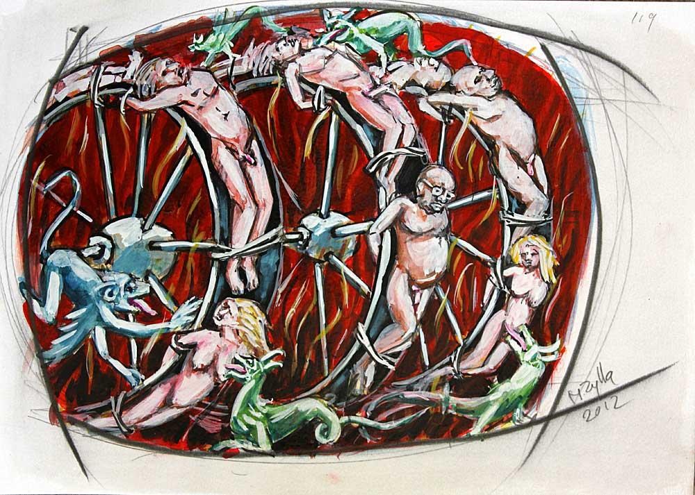 120 Days of Sodom - Wheel