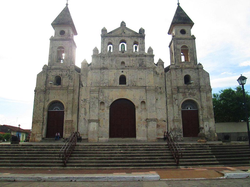 The Guadalupe Church. Granada