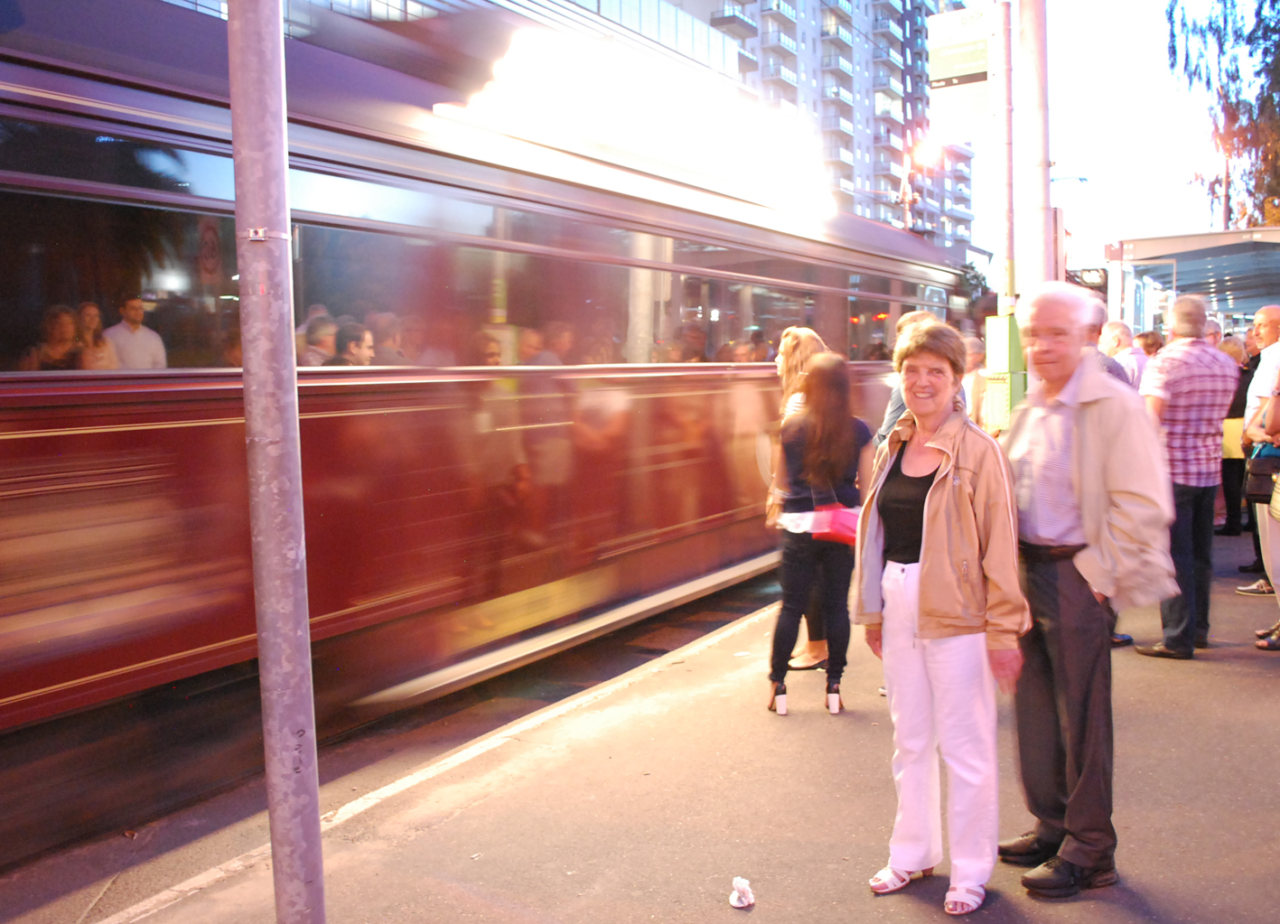 Awaiting Colonial Dinner Tram