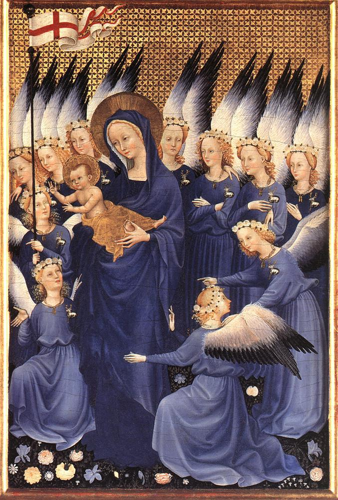 Virgin and Child with Angels, 1395