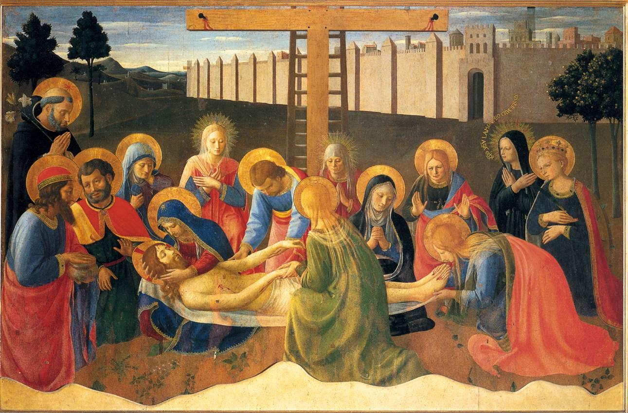 Fra Angelico, Il lamento sul Cristol morto, 1436-1441
