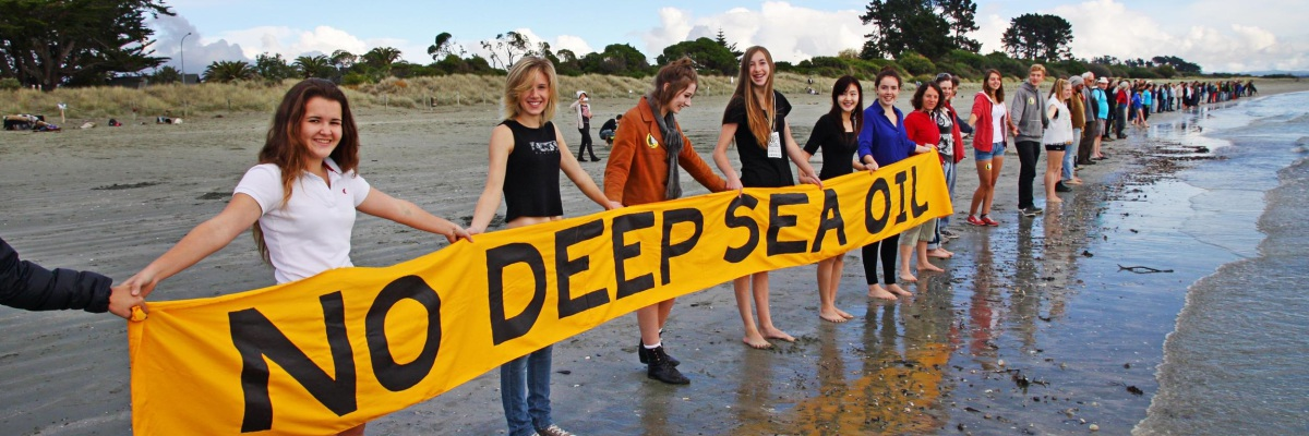 Stop Deep Sea Oil Protest in Nelson