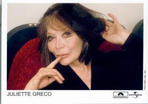 Juliette Greco - © Gréco