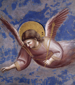 Giotto, Presentation of Christ in the Temple (detail), 1304-06. Scrovegni Chapel