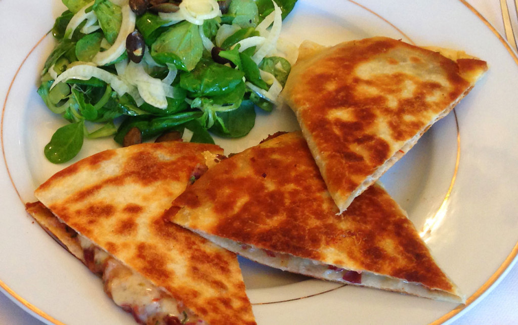 Red-Kidney-Beans-Quesadilla