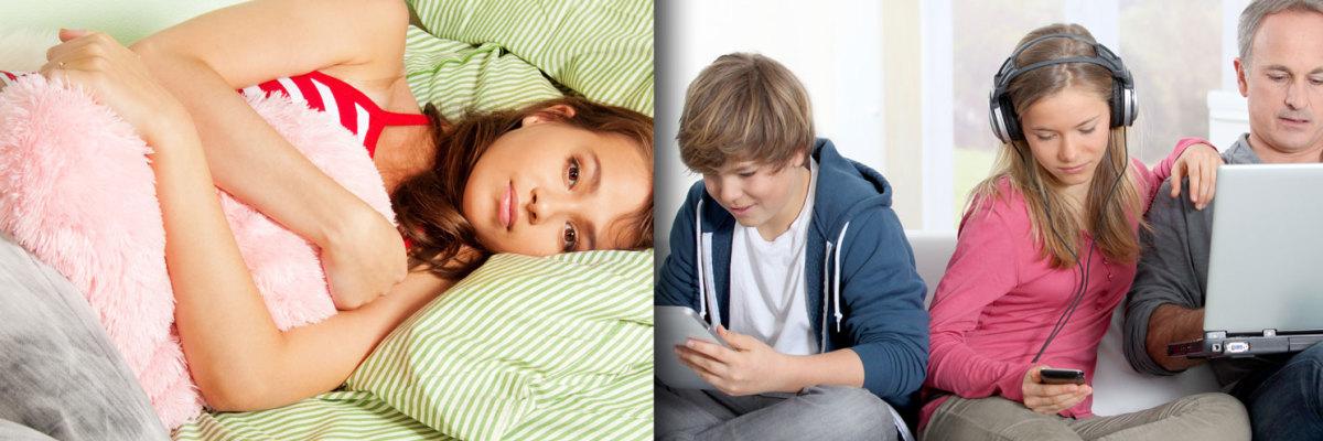 So Teen Sleep Problems Lead 40