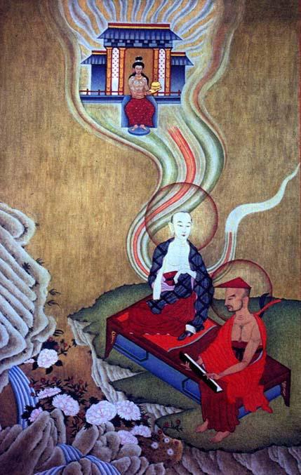 La visione di Asanga di Maitreya