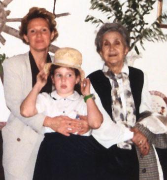 Nonna Rosina, mamma ed io
