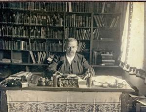 Cornelius Gurlitt senior, father of Hildebrand. Source: University archive of Technische Universität Dresden