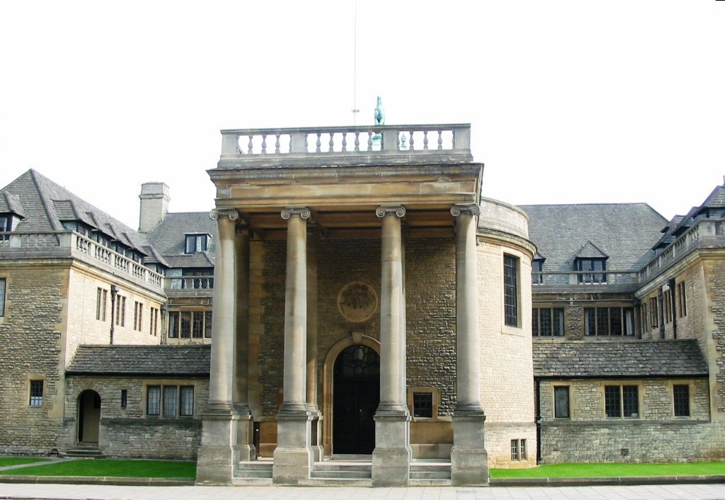 Rhodes House in Oxford. The Rhodes Trust has helped thousands of students from poor backgrounds to gain a university education.