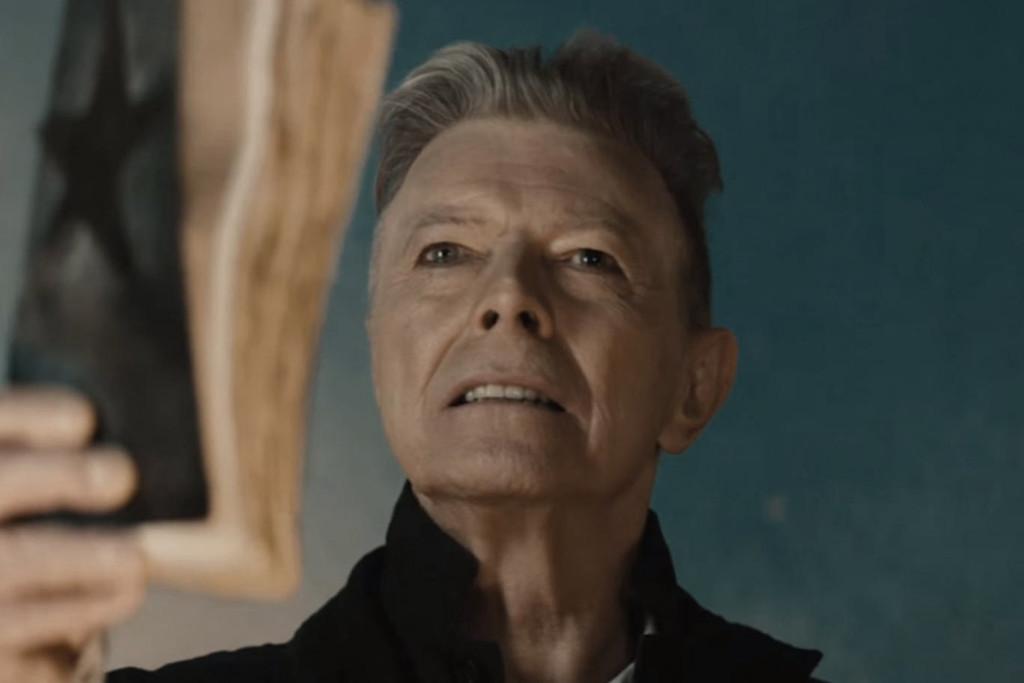 Still from Blackstar video