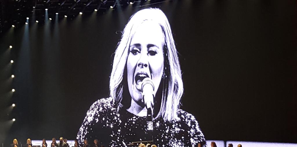 Adele in Belfast - Photo by Mark Beech