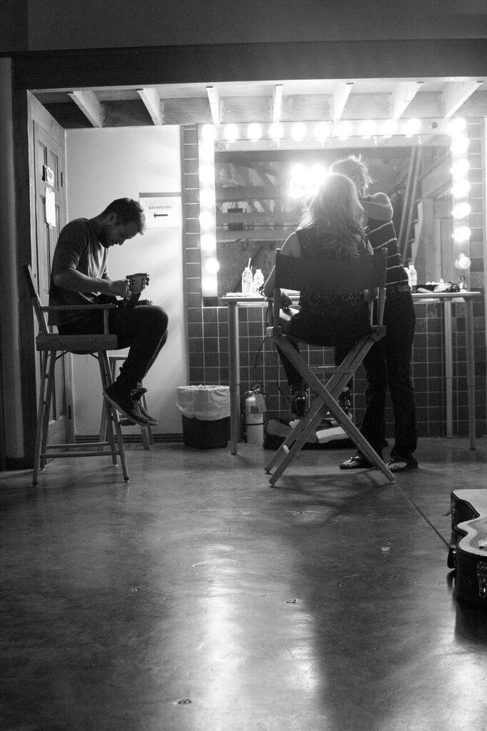 Erica Chase, set 2, makeup chair, pc Veronica Gutierrez