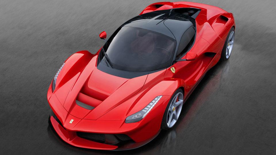 LaFerrari - courtesy Ferrari