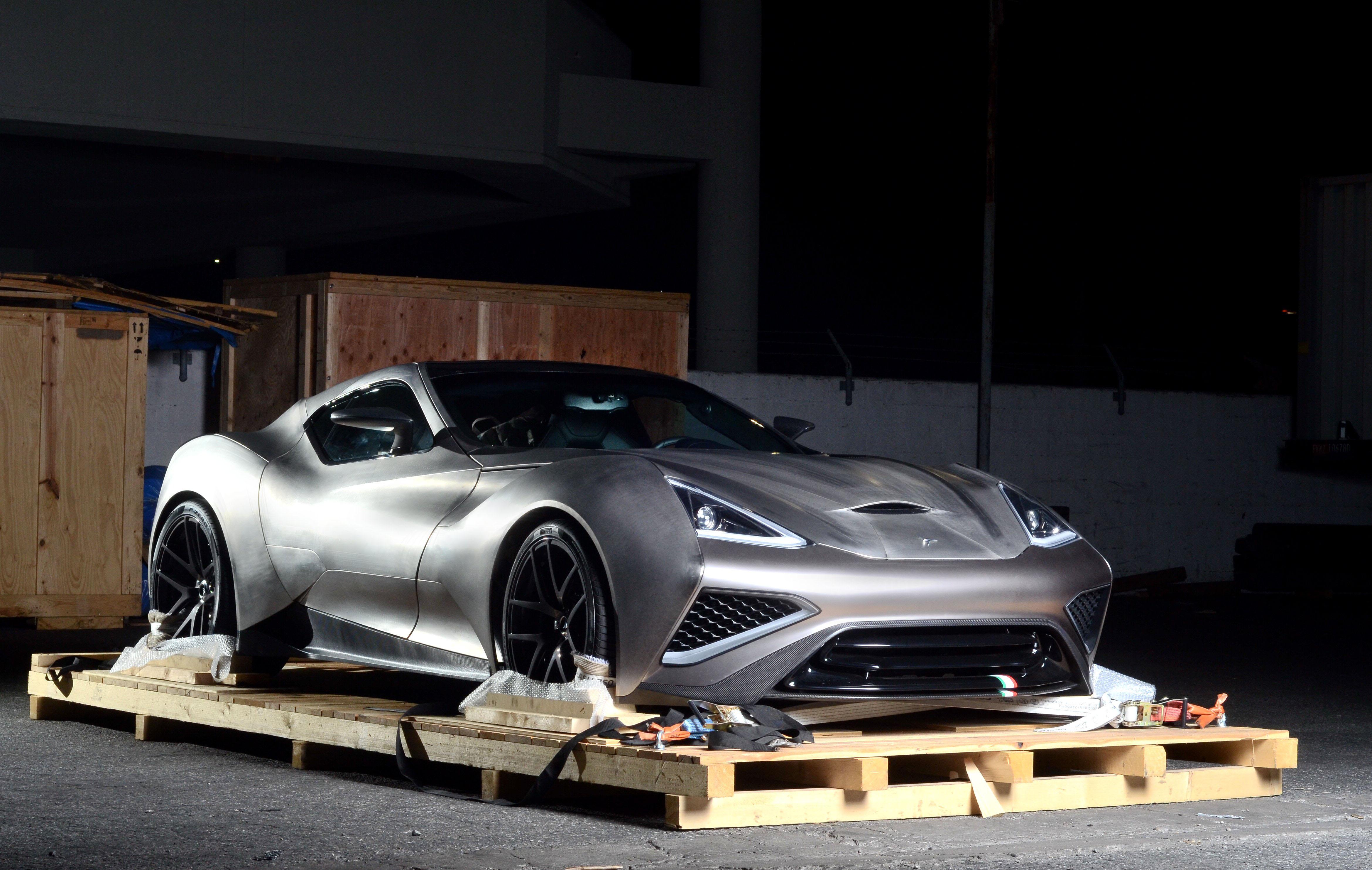 Steel is so 2015. Think titanium for the Vulcano supercar...