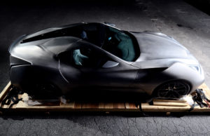 Icona Vulcano, the world's first car with a titanium body