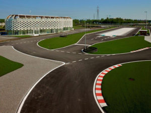 Former Alfa Romeo test track at Arese, Italy