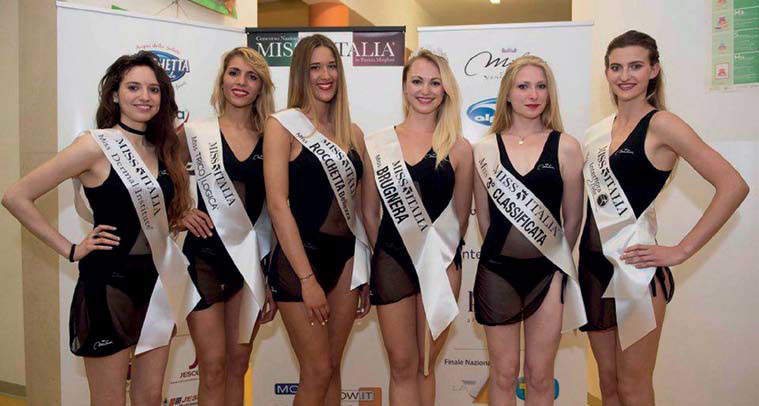 Regional contestants for the title of Miss Italia 2016