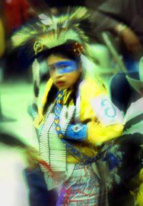 Powwow! dancer