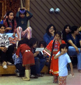 Powwow! dancing children