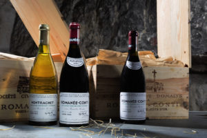 Romanee Conti 1993 and Montrachet 1995, Courtesy of Sotheby's