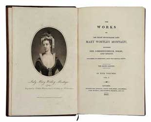 Book - The works of  Honourable Lady Mary Wortley Montagu